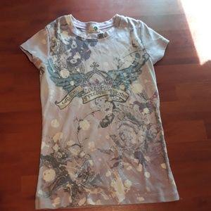 Size S. Short sleeve shirt